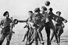 'Christmas Truce' match played at the Avenue Stadium, Dorchester
